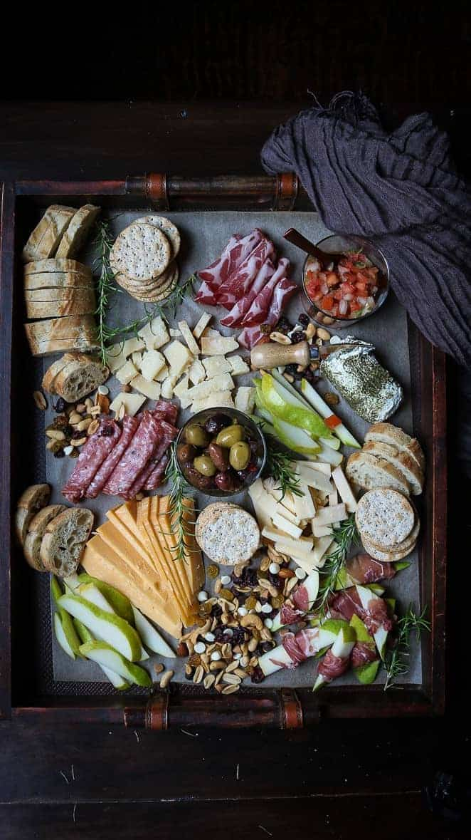 Trader Joes Cheese board under 40