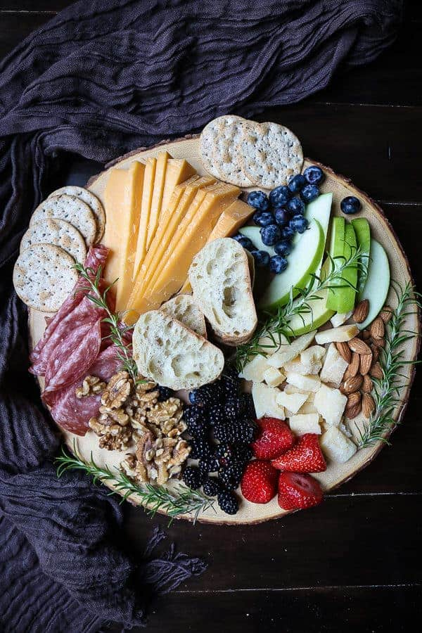 The perfect cheese board for one person