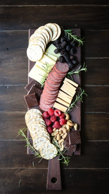The perfect cheese board for two people