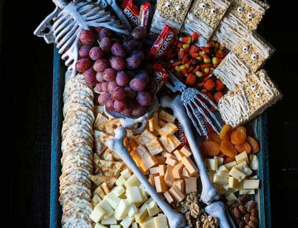 A Cheese Board perfect for Halloween
