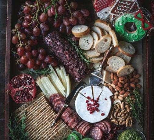 A Cheese board perfect for Christmas