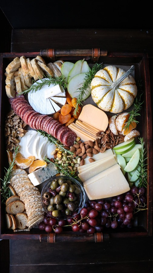 A Cheese board for the fall